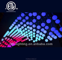 CE&UL Listed 100mm DMX Magic Ball RGB LED Ball Light