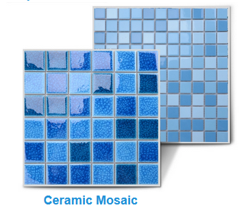 Kính Bong Bóng Phòng Tắm Gạch Mosaic Backsplash