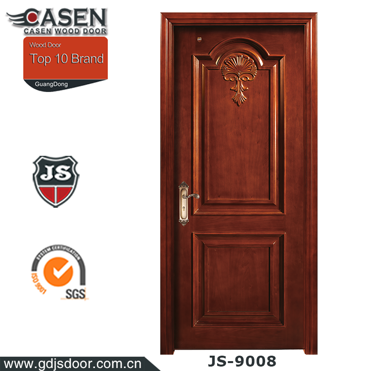 Interior Graceful Wood Door Design For Temple