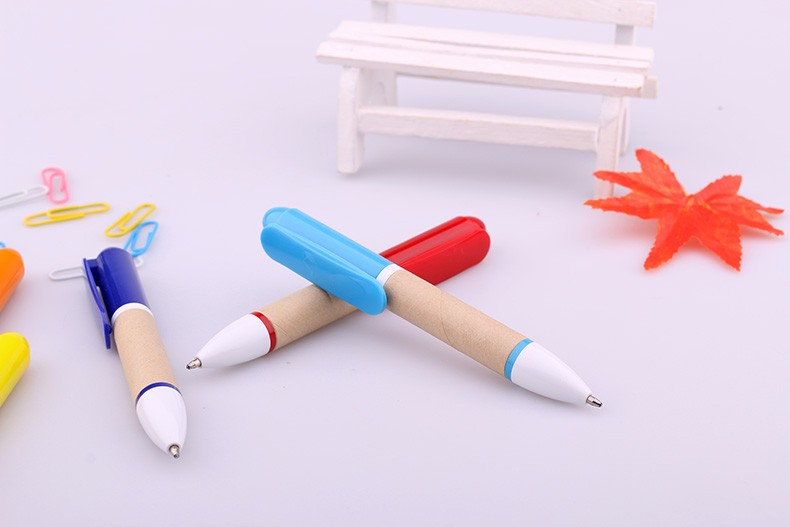 Cute Mini Recycle Kraft paper pen