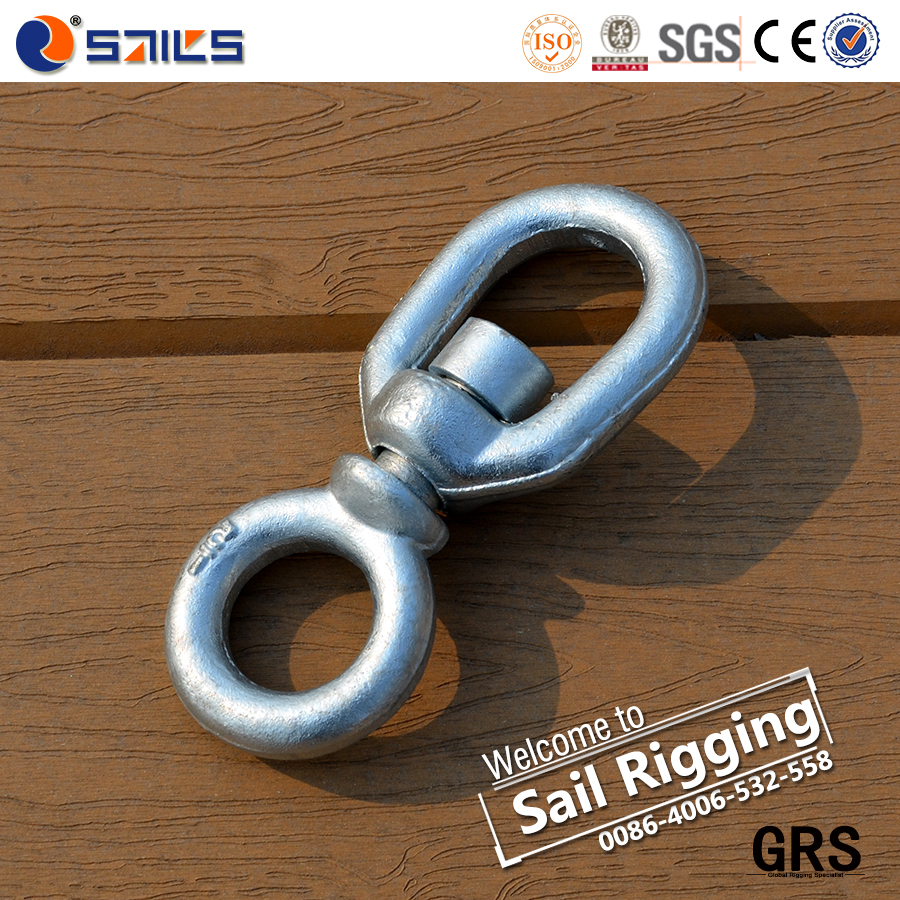 High Strength Carbon Steel G401 Chain Swivel Ring