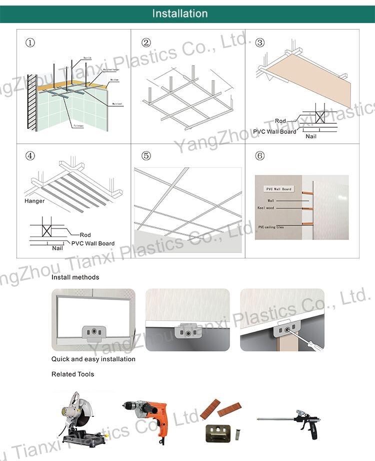 China cheap price PVC ceiling panel PVC wall panel