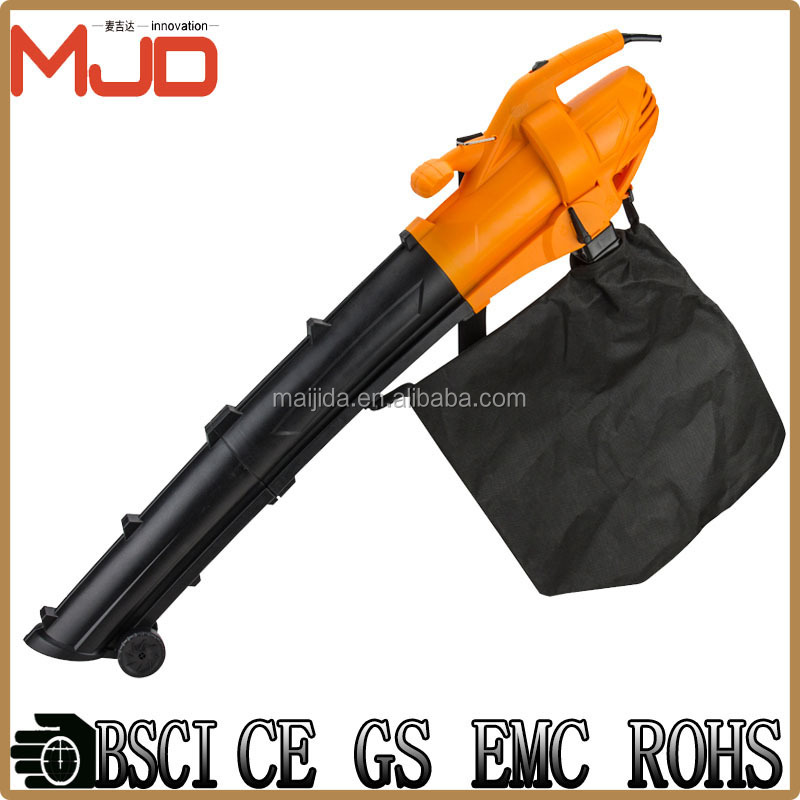 single speed Garden variable electric vacuum Leaf blower 3000W collect ash, leaves high power tools