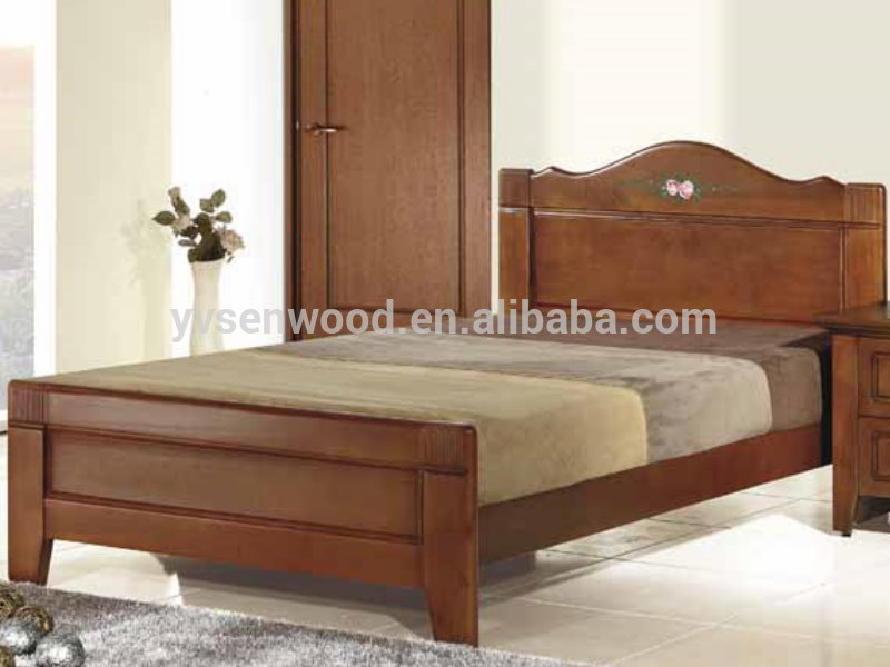 Modern design wooden single cot bed buy single cot bed for Latest model bed design