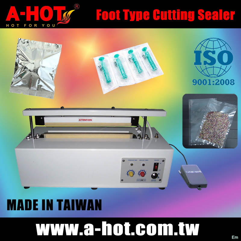 Foot Type PE PP PVC OPP Impulse Sealer