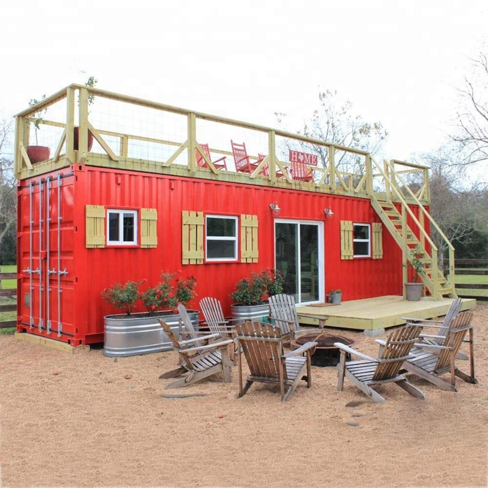 20ft 40ft movable container van house design prefabricated shipping container homes for sale philippines