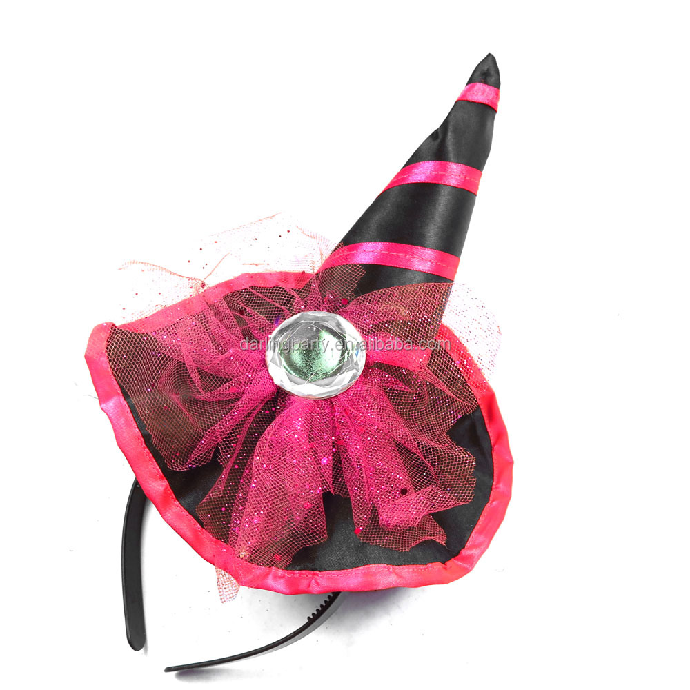 Halloween & Festivals Decorating Party Girl Hat Top Hat Headband