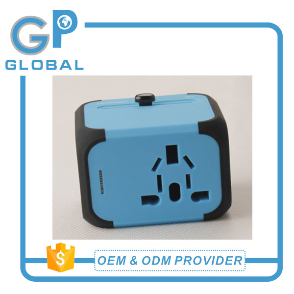 Factory price All in One Universal International Plug Adapter World Travel Adaptor with AU US UK EU