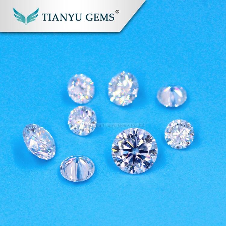 Wholesale Loose Synthetic Rough 15 Points Moissanite Loose <strong>Stone</strong>