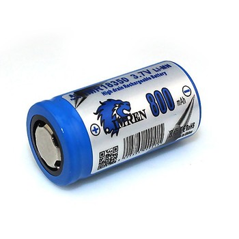 Imren 18350 800mah,Li-ion 18350 3.7v Battery,18350 800mah Lithium ...
