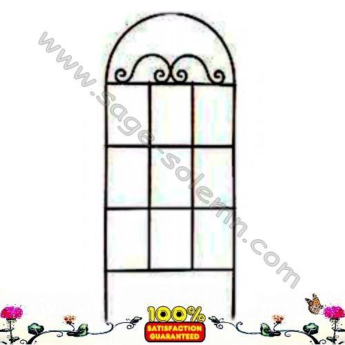 Jardin décoratif treillis métallique, Usine d\'acier soutien ...