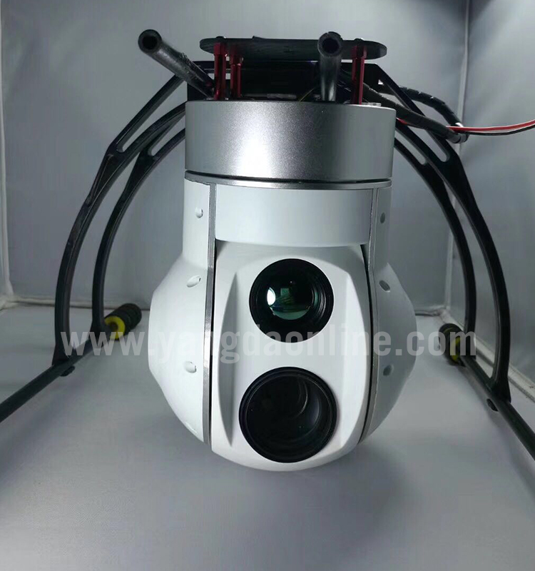 Drone Zoom Camera 30x Eoir Dual Sensor Gimbal Camera For