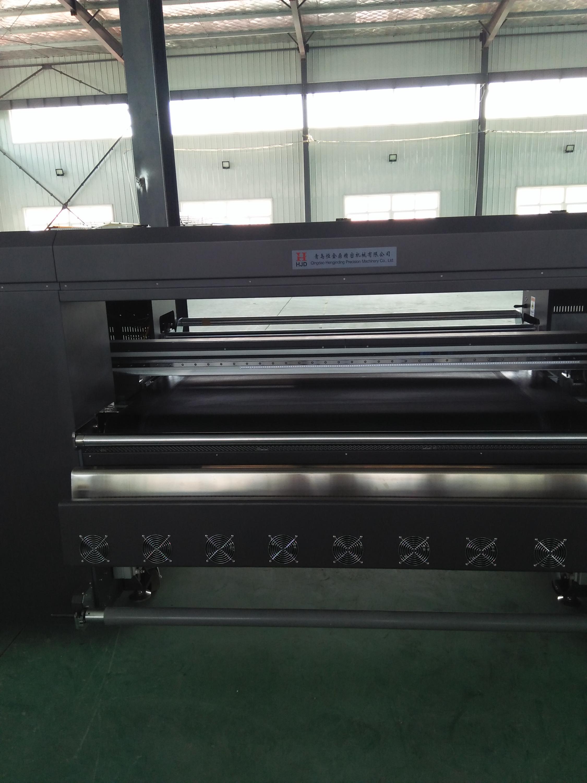 1.8 m cuộn để cuộn vành đai dệt máy in kỹ thuật số