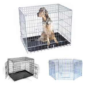 Designs Stainless Iron Commercial Wire Cheap Wholesale Large Metal Dog Kennel Cage For Sale Cheap