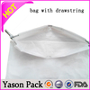Yason opp drawstring bag pe drawstring garbage bag on roll plain drawstring bag pattern