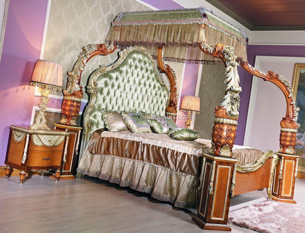 Slaapkamer Franse Vertaling : Luxe franse barokke stijl hemelbed europese adembenemende hout