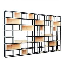 Librerie In Metallo Scaffali.Promozione Stile Industriale Scaffale Shopping Online Per Stile