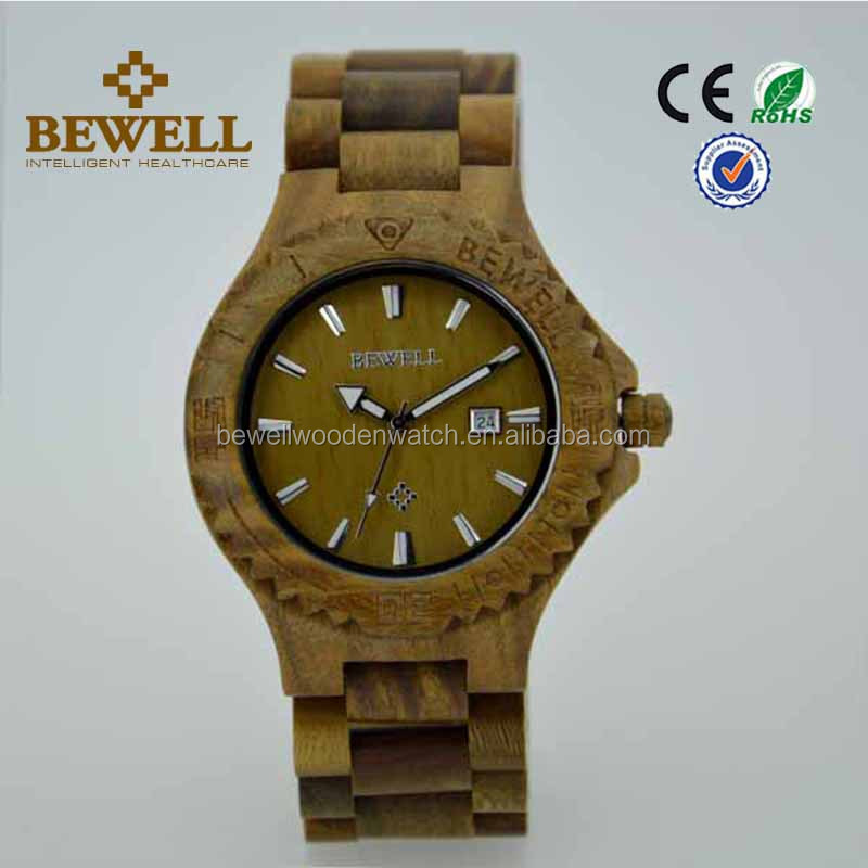Bewell international wrist watch brands new popular design for men