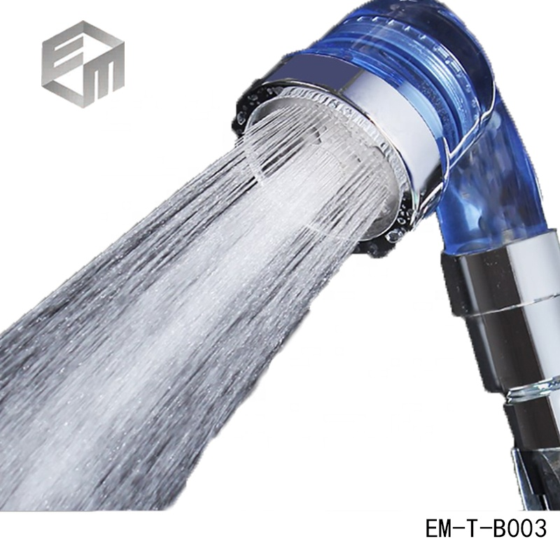 Hot Sell Barber Shop Water Softener Shower Heads Ionic Shower Head