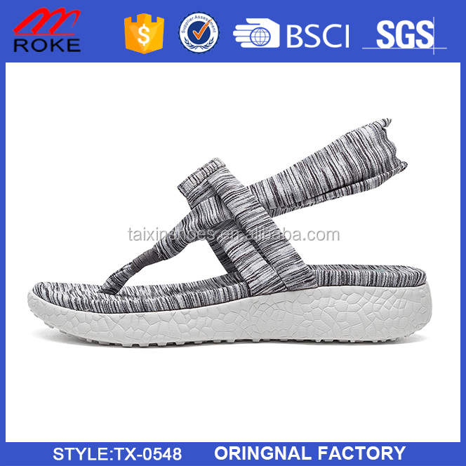 Fashion Mesh Upper Women Original Sandal From Directly Factory In China