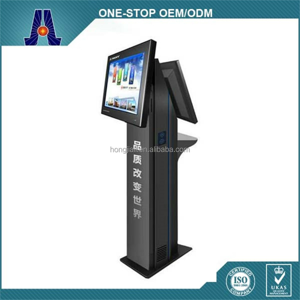 Public Dual Screen Cell Phone Charging Station kiosk
