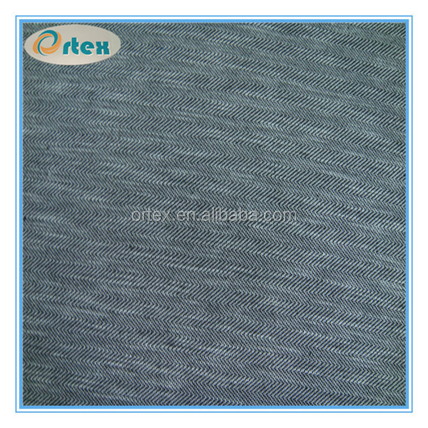 jacquard herrying bone knit fabric