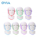 Led Facial Mask Skin Rejuvenator Manufacturers Wholesale Led Mask Facial 7 Color Therapy Magic Acne Wrinkle Removal