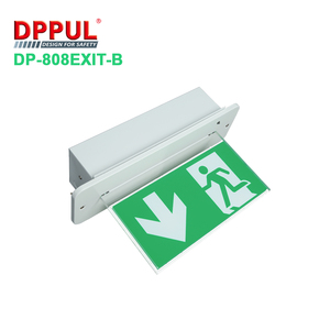 Ceiling Mounted Led Light Source Emergency Exit Sign