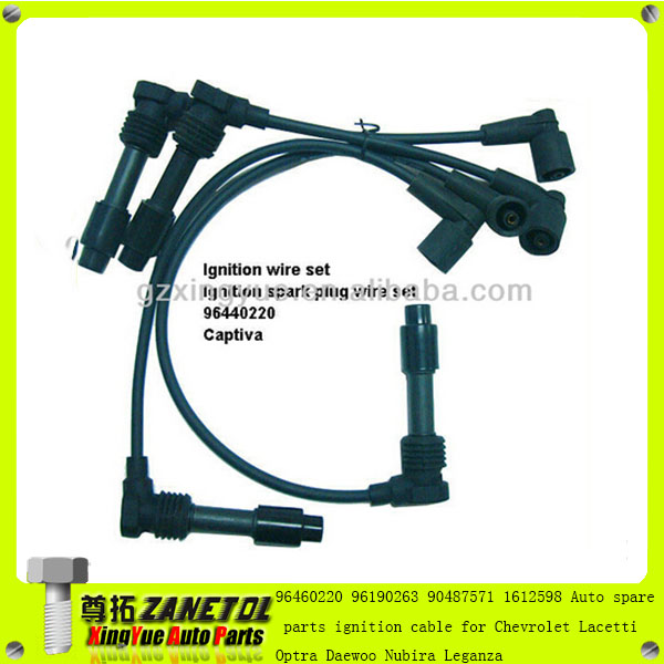 3370585z10 96190263 96460220 ignition cable spark plug wire for chevrolet optra daewoo nubira. Black Bedroom Furniture Sets. Home Design Ideas