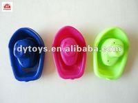 3d mini plastic kids toys boat for children