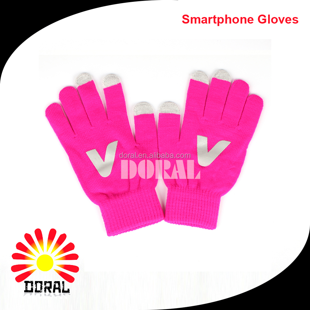 Christmas gift Customized Smart Phone Screen Touch Magic Gloves