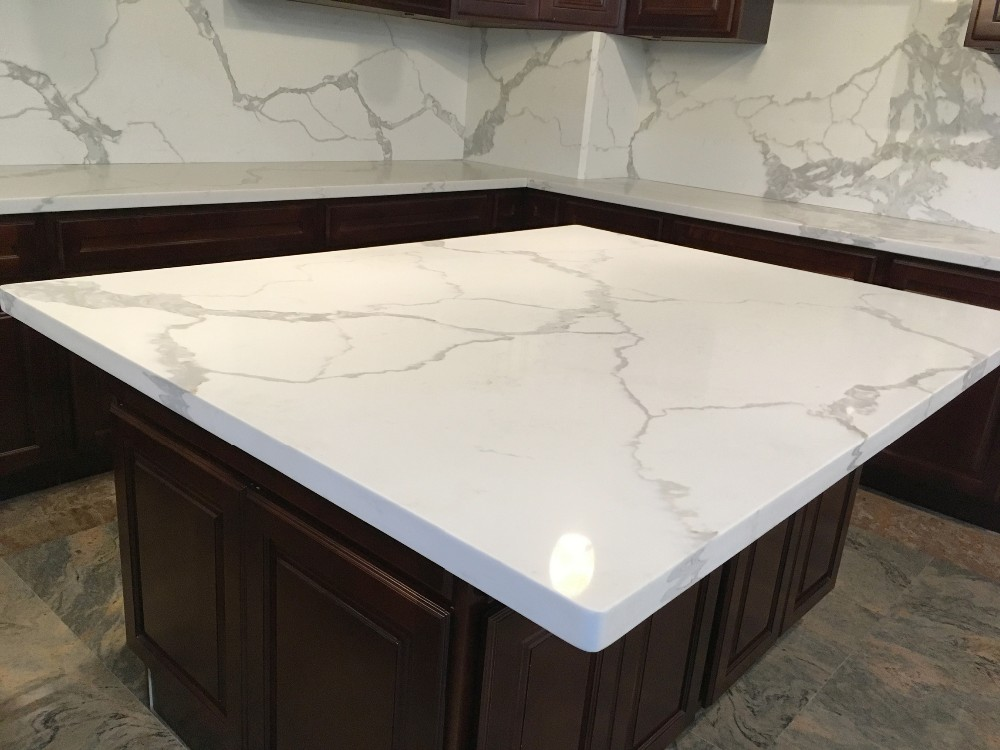 White sparkle quartz stone countertop buy pearl white for Quartz countertop slab dimensions