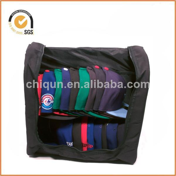 Homiegear Authentic Carrier 24 Hat Storage Unit for New Era Caps W- padded pouch By Chiqun Donggaun CQ-H01033