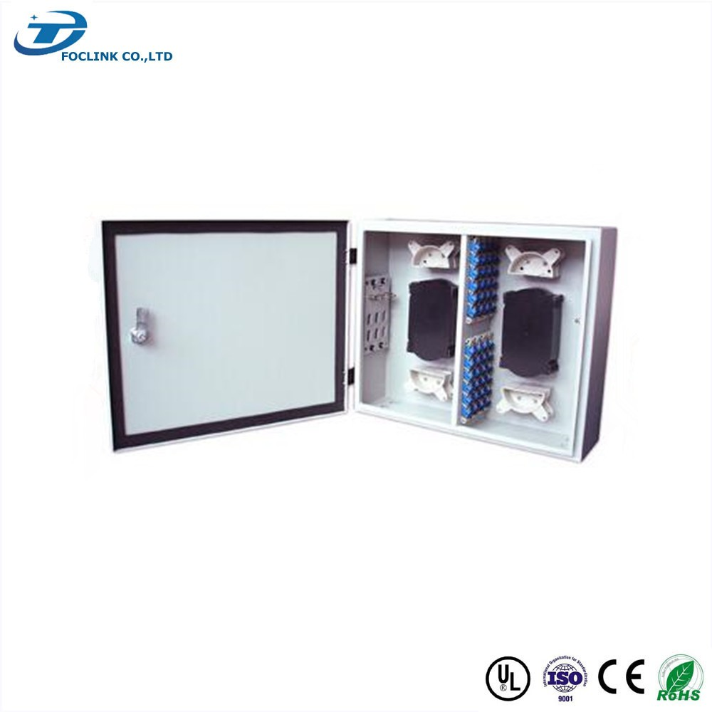 telecommunication equipment 48 cores Indoor Wall-mount ODF with ABS plastic tray