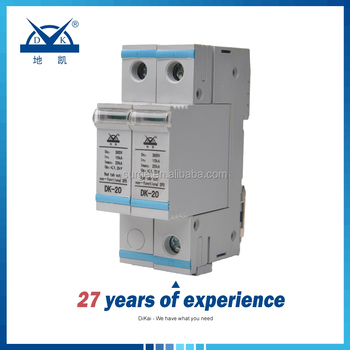 20ka Low Voltage Lightning Surge Arrester Spd/voltage Surge Protector/ Wiring Surge Arrester on
