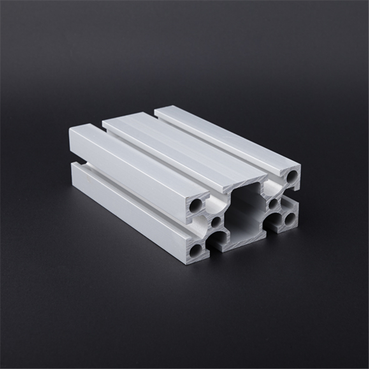 FP-4080-2  6063-  T5 heavy weight v slot industrial aluminum extruded profile for frames
