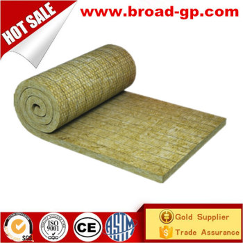 mineral fiber blanket insulation rock wool rolls with low