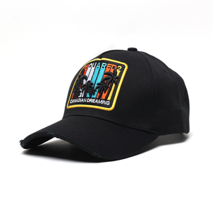High quality 3D baseball cap embroidered unique Custom 3D Embroidery 6 Panel Baseball Caps