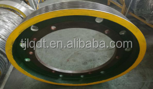 The traction wheel,elevator wheel,elevator parts, 650*6*13