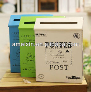 Outdoor Useful Plastic Letter Box/Post Box