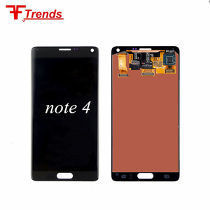 100% tested LCD Screen Display Digitizer For Samsung Galaxy Note 4 assembly
