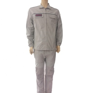 100% cotton Customized Jacket and Pants Uniforms Overall Workwear