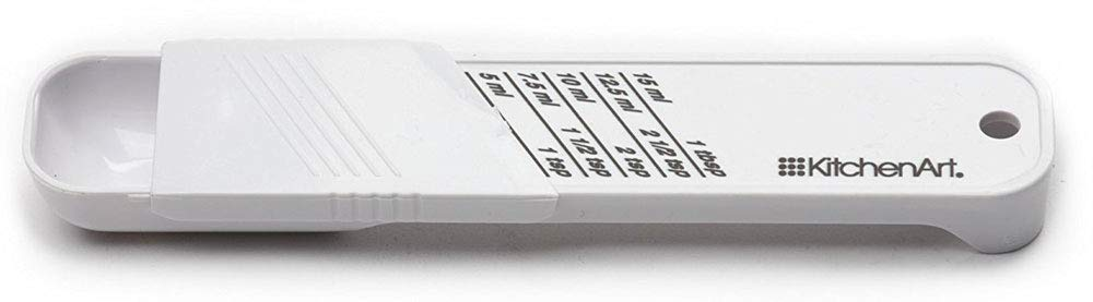 "HomyDelight Adjustable Measuring Spoon - Tablespoon 0.5 lbs 1.375"" 6.25"" .5"""