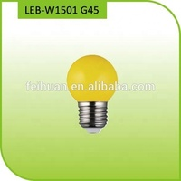 2018 G45 1 watt led bulb 0.5w Blue Green Red and Yellow color
