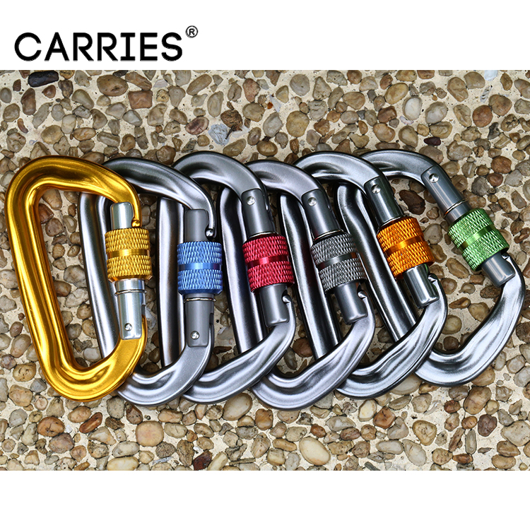 Customized Color Cheap Aluminum Carabiners Snap <strong>Hook</strong>