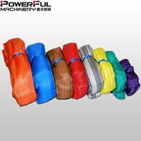 Polyester Round Soft Round Tubular Webbing Sling for lifting
