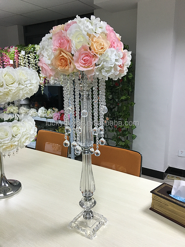 Hot sale crystal chandelier wedding centerpiece buy for Buy wedding centerpieces