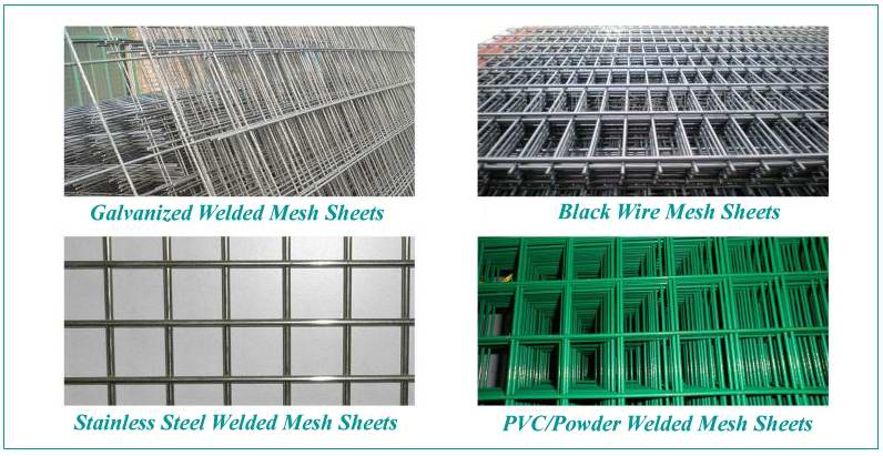 Grid Cheap Flat Galvanized Sheet 1x2 Welded Wire Mesh Panel - Buy ...