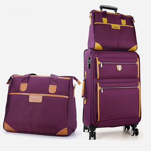 1000D EVA softside travel luggage sets two