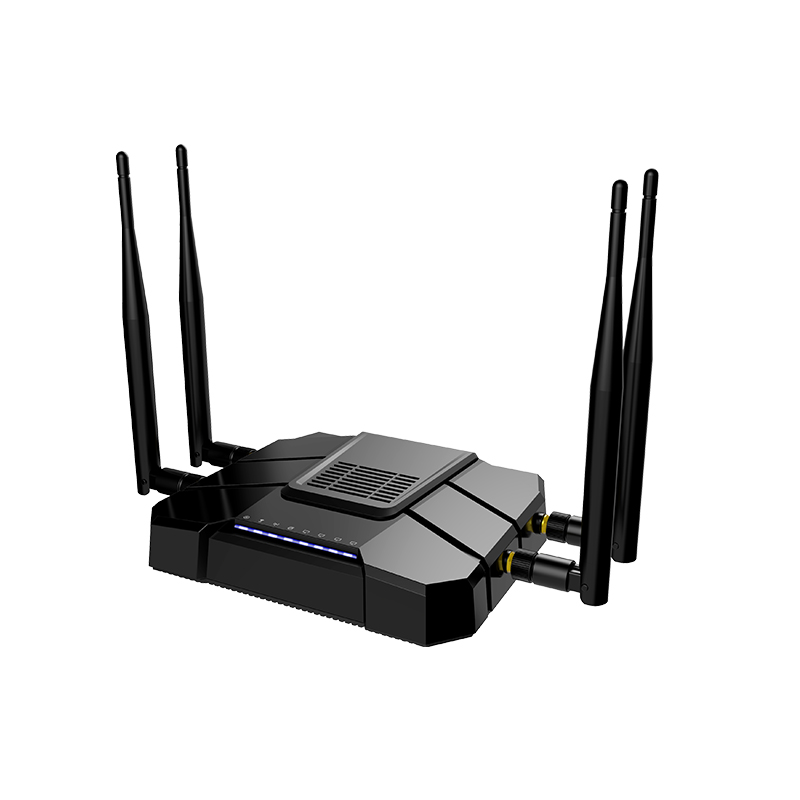 2.4g/5g router with 4lan 1 gigabit wan 2 analog 19216881 wifi <strong>modem</strong>